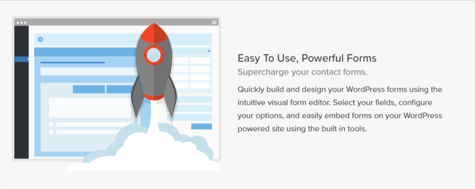 Build powerful online forms quickly and easily with WordPress and Gravity Forms.